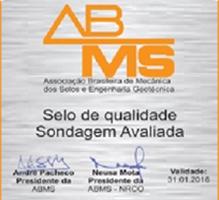 Selo de Qualidade de Sondagem da ABMS