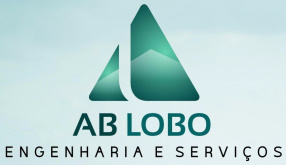 Logotipo AB Lobo Engenharia